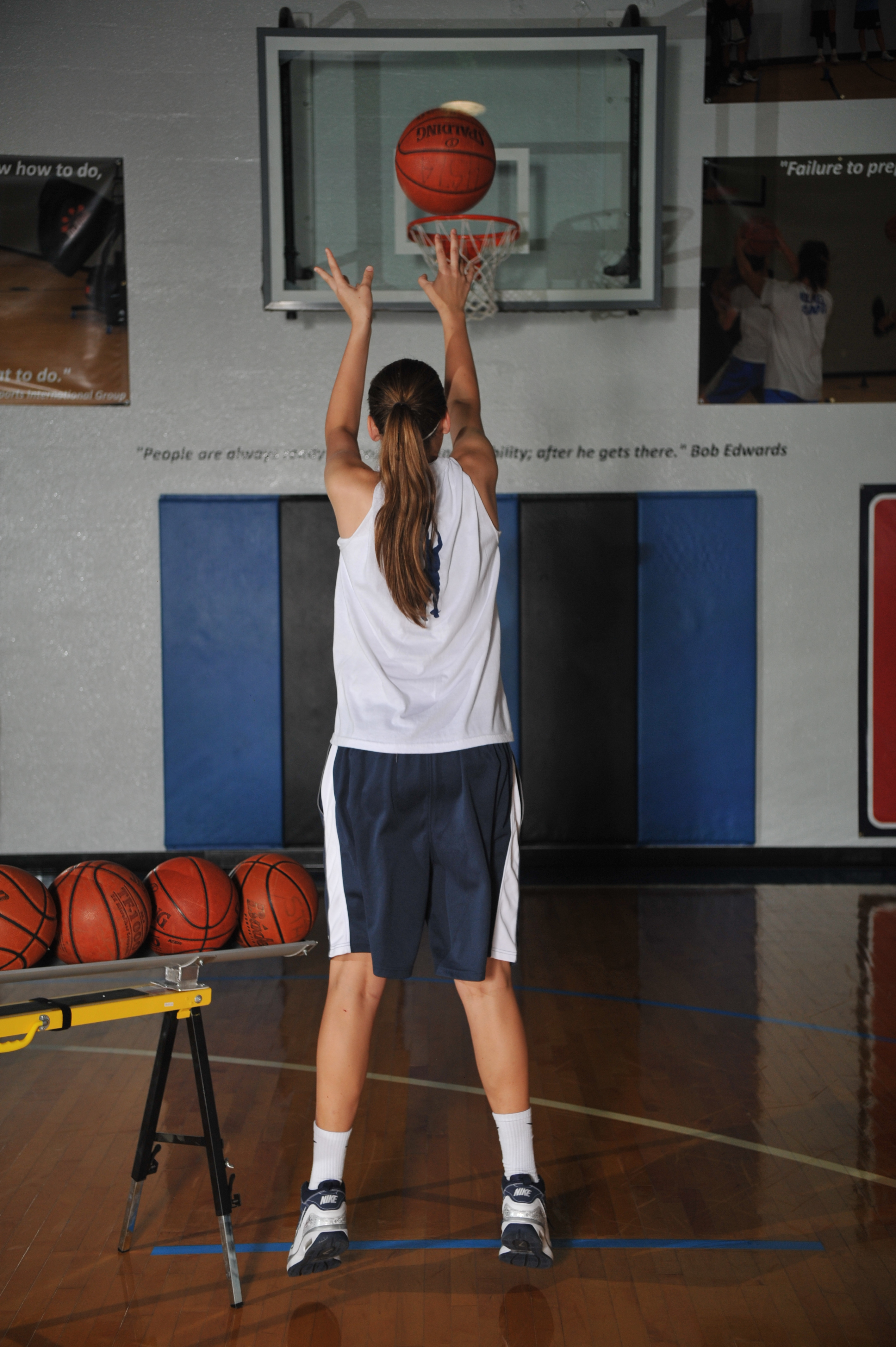 Off Season Basketball Shooting Tips and Techniques makes a ...