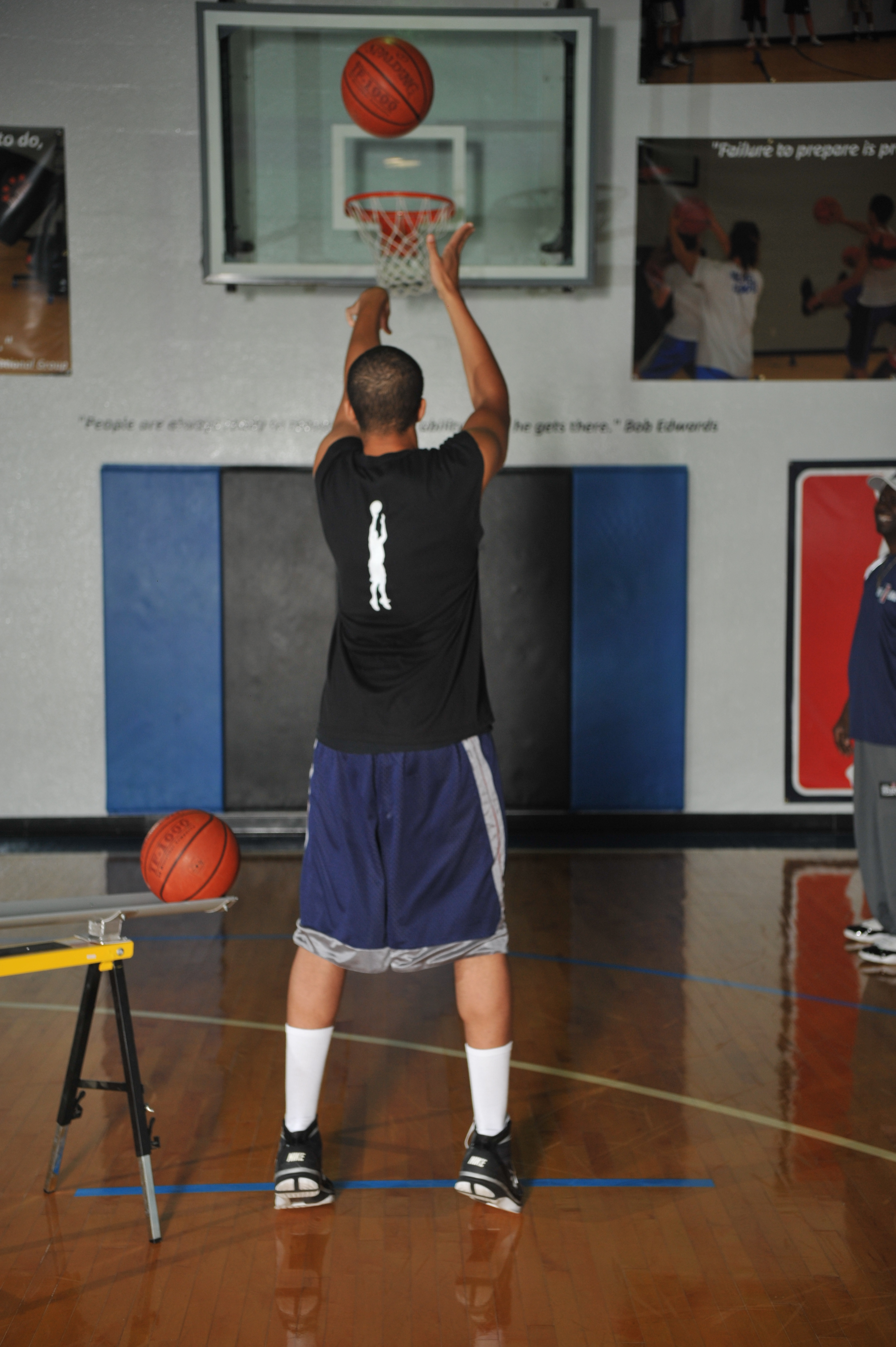 a look at the free throw in basketball Usc basketball player at the line shooting free throw  the rotations of your joints  — so different movements look very different to your muscles.
