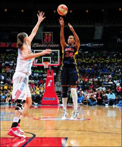 Tamika Catchings 2011 WNBA MVP