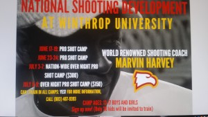 Marvin Harvey National Shooting Camp at Winthrop University