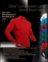 HiDef Compression Long Sleeve Mock Neck